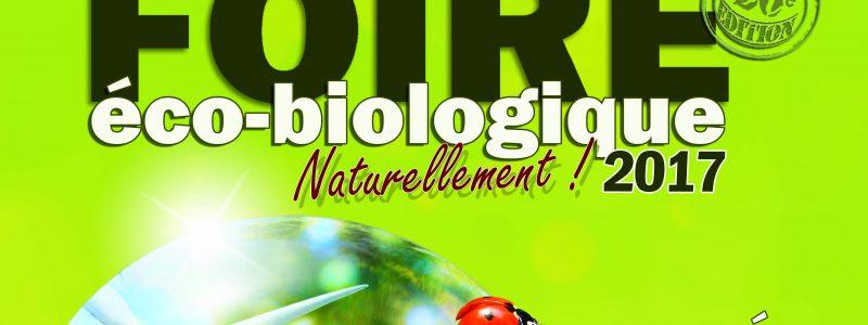 26e foire éco biologique Naturellement ! les 20 et 21 mai à Nyons