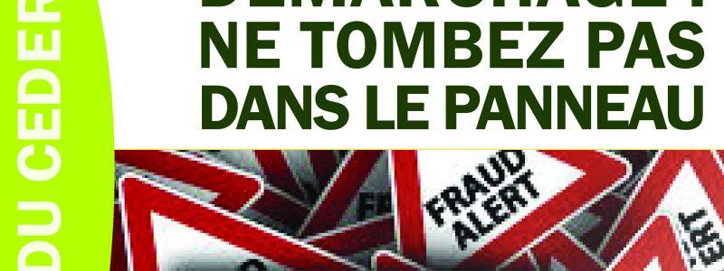 Jeudi du CEDER sur les arnaques et fraudes le 27 avril à 19 h au CEDER