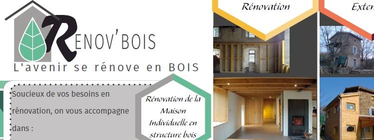 RENOV'BOIS : Les professionnels de la rénovation bois se mobilisent en Drôme - Ardèche